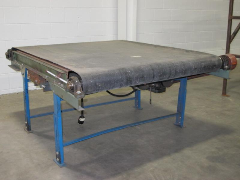 4' x 5' Powered Belt Conveyor with Variable Speed Drive |